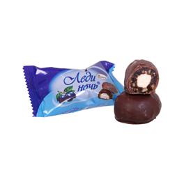 Chocolade snoepjes met pruimen