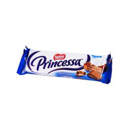 "Wafels ""Princessa"" in melkchocolade"