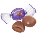 Milk caramel with chocolate filling