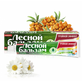 Tandpasta - drievoudig effect