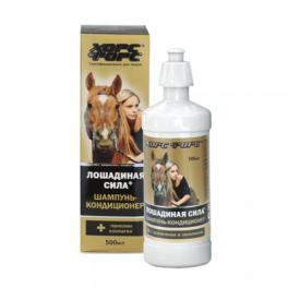"""Shampoo - conditioner """"Horsepower"""""""