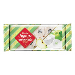 Turkish delight apple flavor